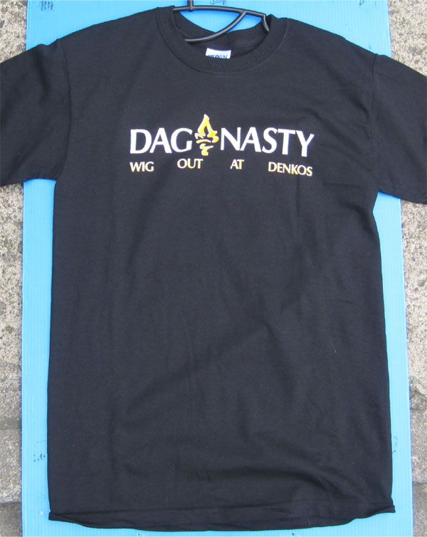 DAG NASTY Tシャツ WIG OUT