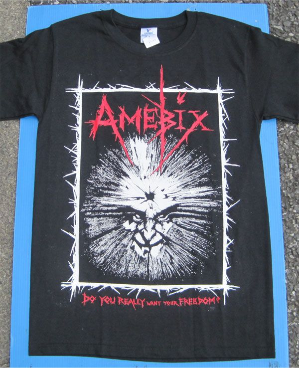 AMEBIX 両面プリントTシャツ DO YOU