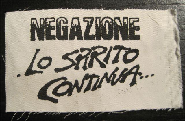 NEGAZIONE  PATCH LO STPIRITO...
