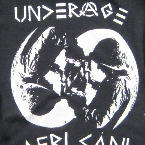 UNDERAGE Tシャツ AFRICANI