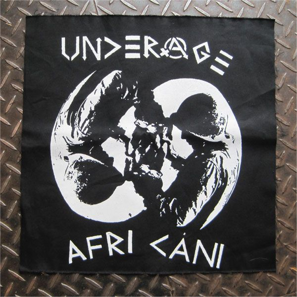 UNDERAGE BACKPATCH AFRICANI