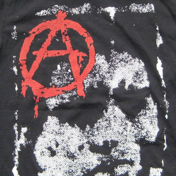 DISCHARGE Tシャツ ANARCHY & FACE1