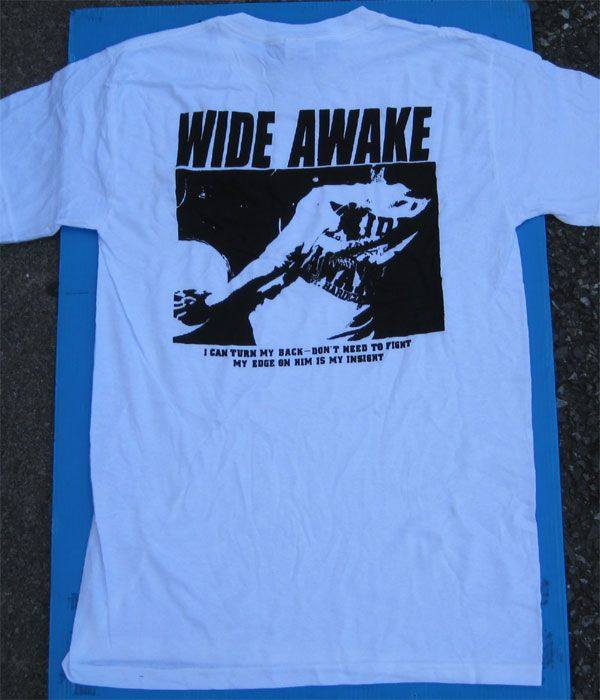 WIDE AWAKE Tシャツ PHOTO