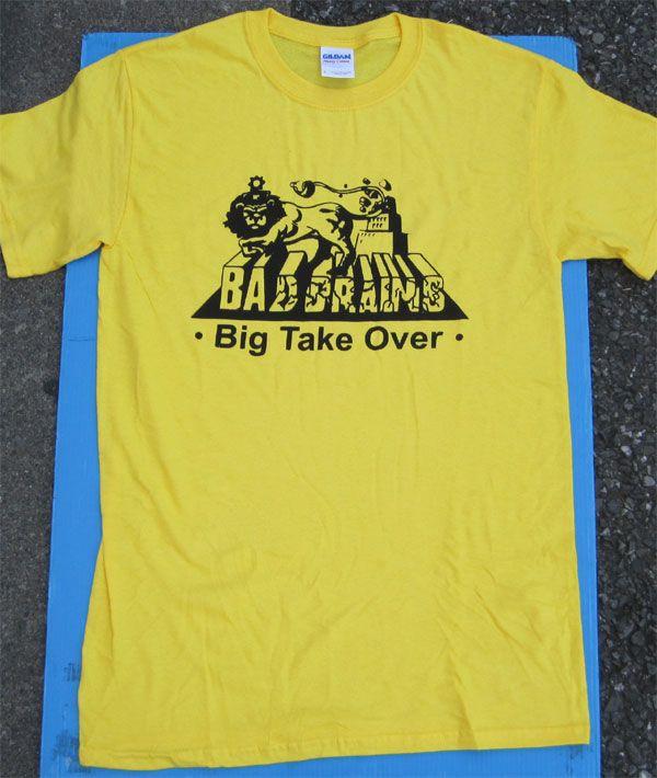BAD BRAINS Tシャツ BIG TAKE OVER