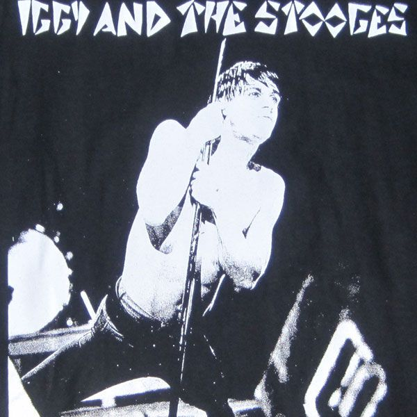 IGGY AND THE STOOGES Tシャツ PHOTO