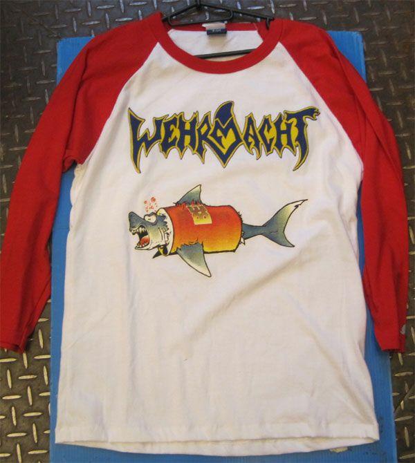WEHRMACHT ラグランシャツ SHARK