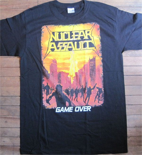 NUCLEAR ASSAULT Tシャツ GAME OVER