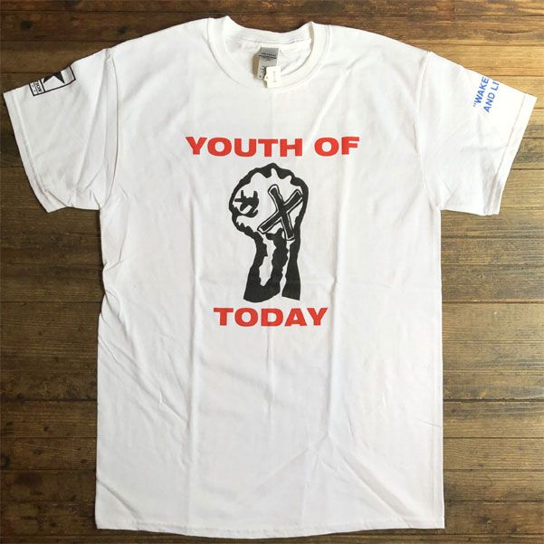 YOUTH OF TODAY Tシャツ BREAK DOWN THE WALLS
