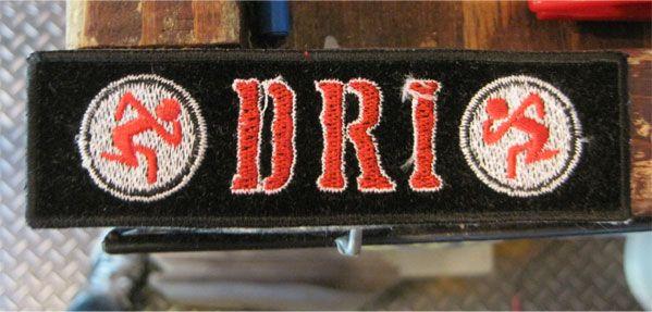 D.R.I. ワッペン ロゴ&マーク