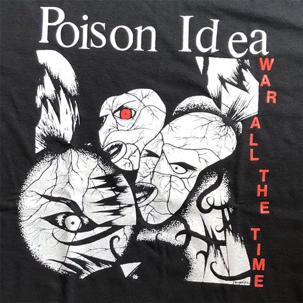 POISON IDEA Tシャツ WAR ALL THE TIME