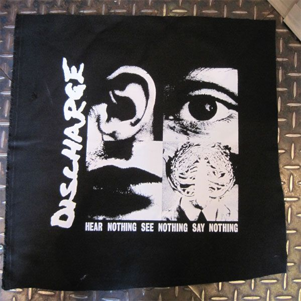 DISCHARGE BACK PATCH HEAR
