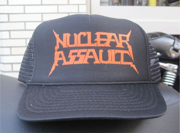 NUCLEAR ASSAULT メッシュCAP GAME OVER