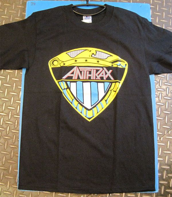 ANTHRAX Tシャツ WE ARE THE LAW