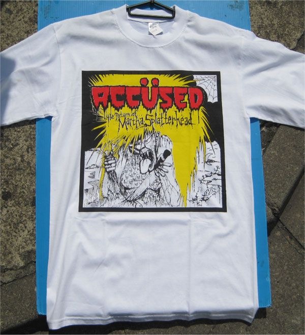 ACCUSED Tシャツ The Return of Martha Splatterhead