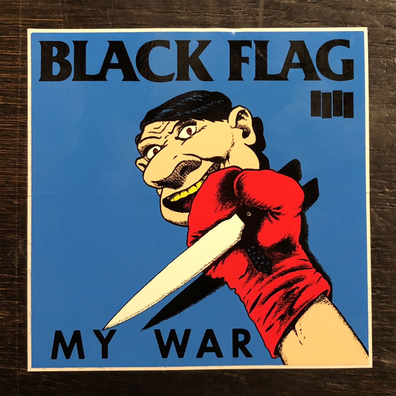BLACK FLAG ステッカー MY WAR