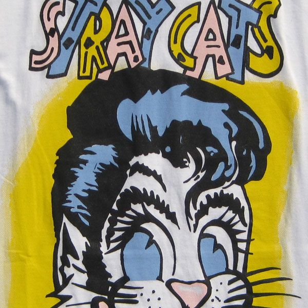 STRAY CATS Tシャツ CAT