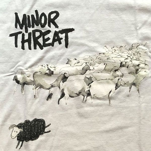 MINOR THREAT Tシャツ OUT OF STEP カラー