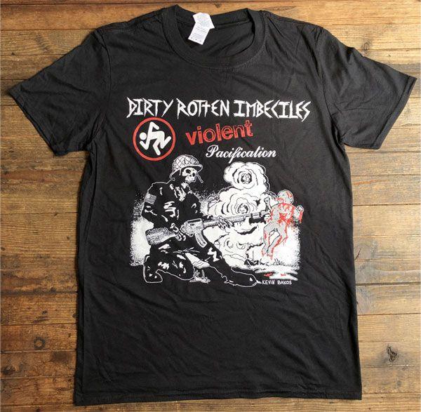 D.R.I. Tシャツ Violent Pacification 1