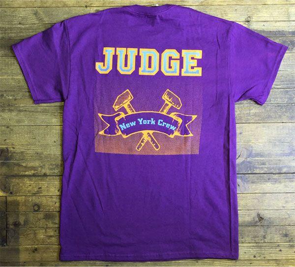 JUDGE Tシャツ NEW YORK CREW リミテッドカラー!