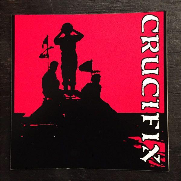 CRUCIFIX  ステッカー