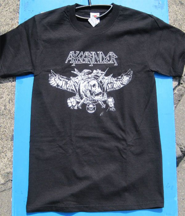 AXEGRINDER Tシャツ 両面プリント