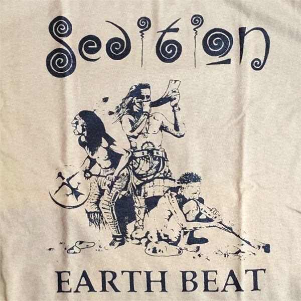 SEDITION Tシャツ EARTH BEAT
