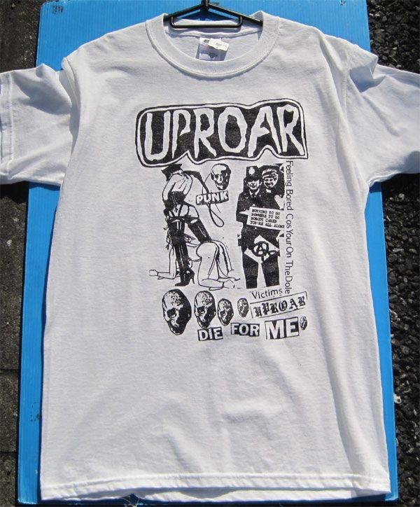 UPROAR Tシャツ DIE FOR ME!