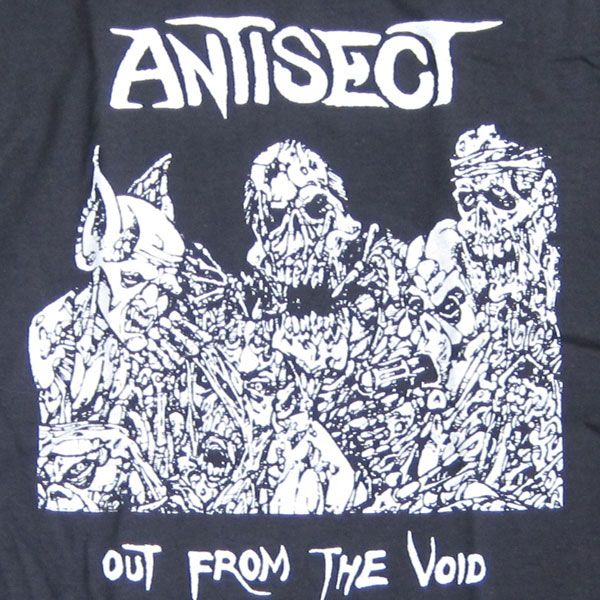 ANTISECT Tシャツ OUT FROM THE VOID