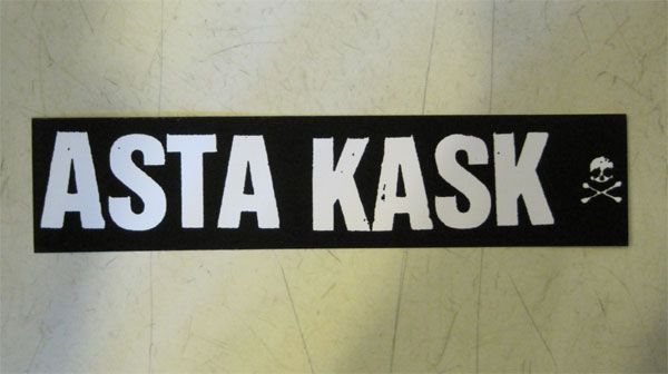ASTA KASK ステッカー ロゴ