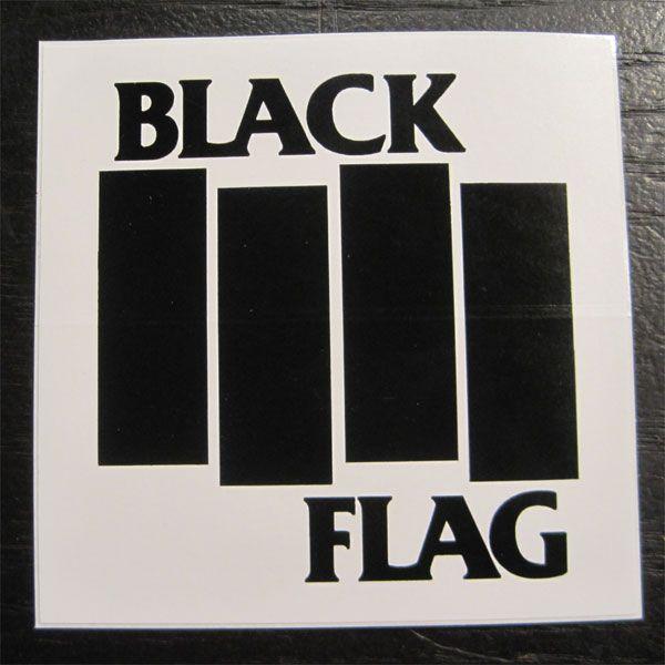BLACK FLAG  ステッカー BARS&LOGO