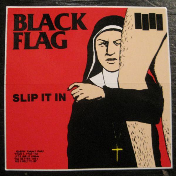 BLACK FLAG  ステッカー SLIP IT IN