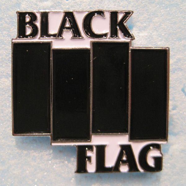 BLACK FLAG ピンバッジ
