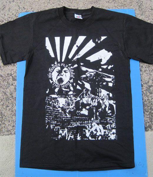 THE MOB Tシャツ コラージュ