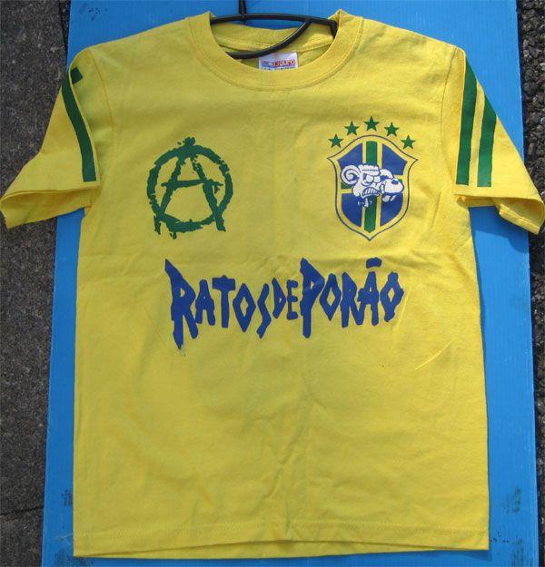 RATOS DE PORAO Tシャツ BRASIL