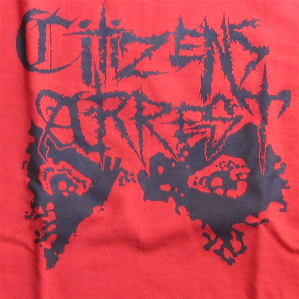 CITIZENS ARREST Tシャツ EYE RED