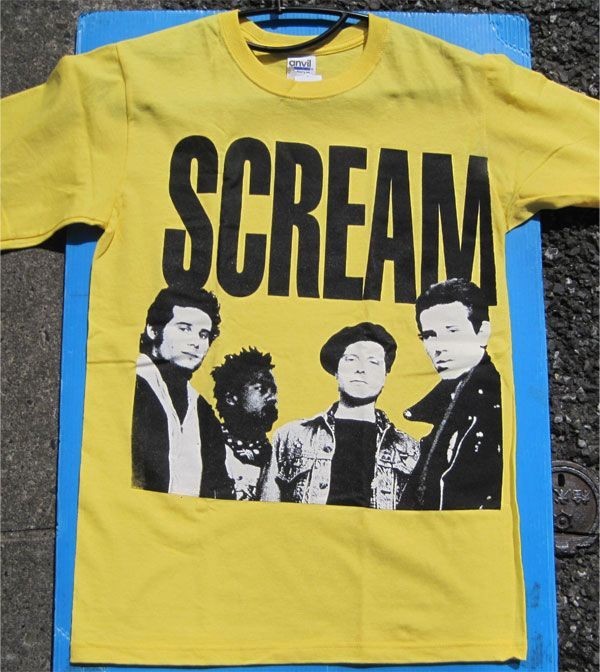 SCREAM Tシャツ THIS SIDE UP