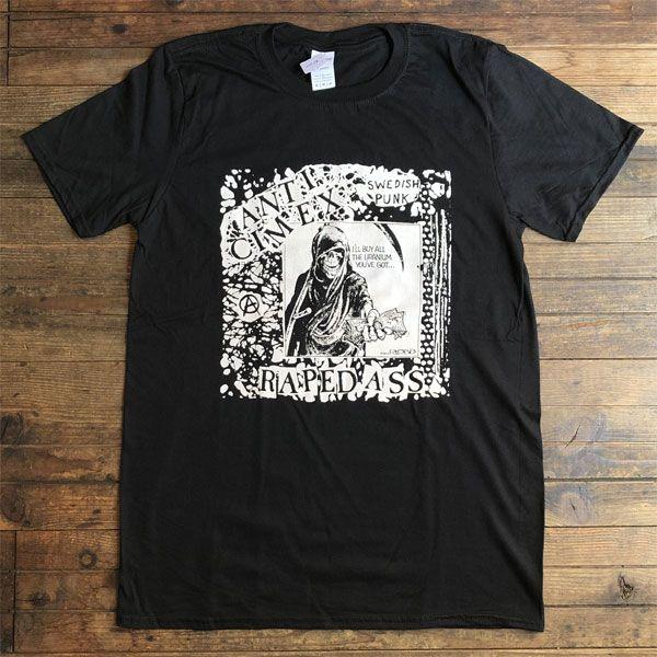 ANTI CIMEX  Tシャツ RAPED ASS オフィシャル!