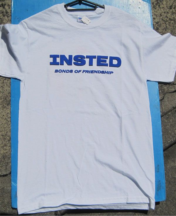 INSTED Tシャツ BONDS OF FRIENDSHIP