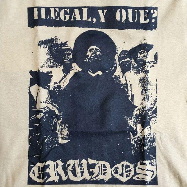 LOS CRUDOS Tシャツ ILEGAL