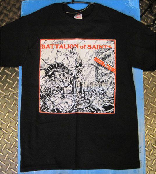 BATTALION OF SAINTS Tシャツ SECOND COMING