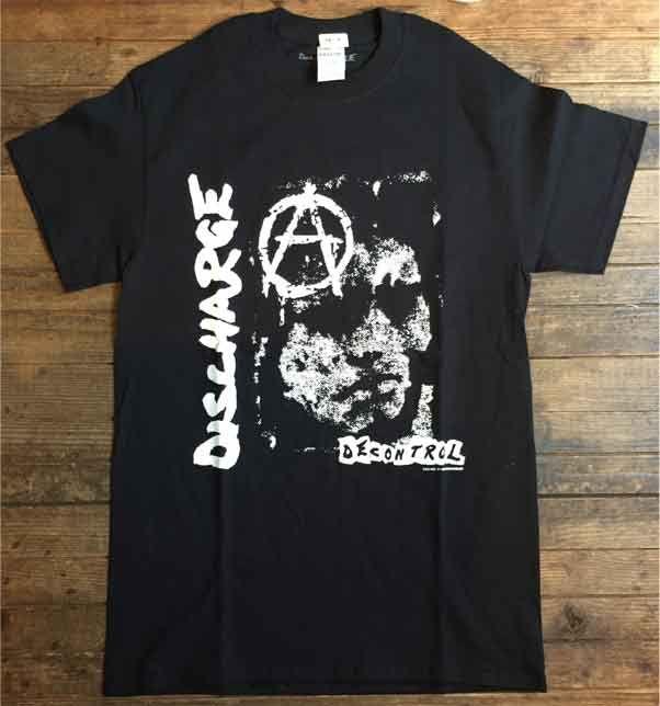 DISCHARGE Tシャツ DECNTOROL