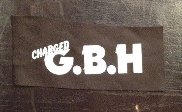 G.B.H PATCH LOGO