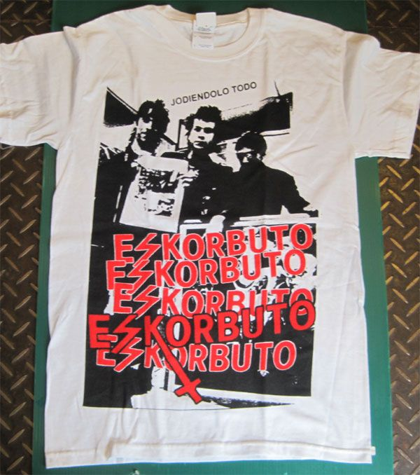 ESKORBUTO Tシャツ PHOTO