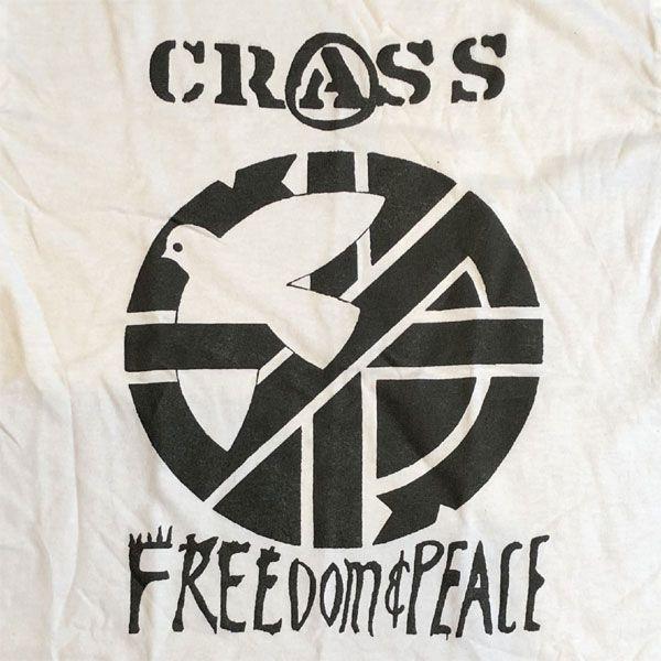 CRASS Tシャツ FREEDOM & PEACE