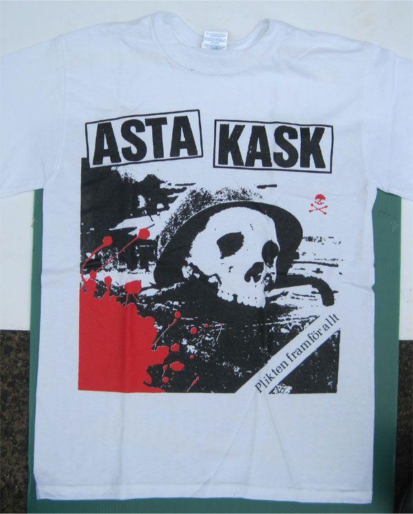 ASTA KASK Tシャツ BIG PRINT!