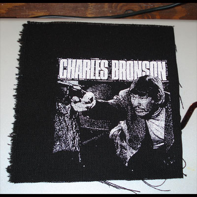 CHARLES BRONSON  PATCH2