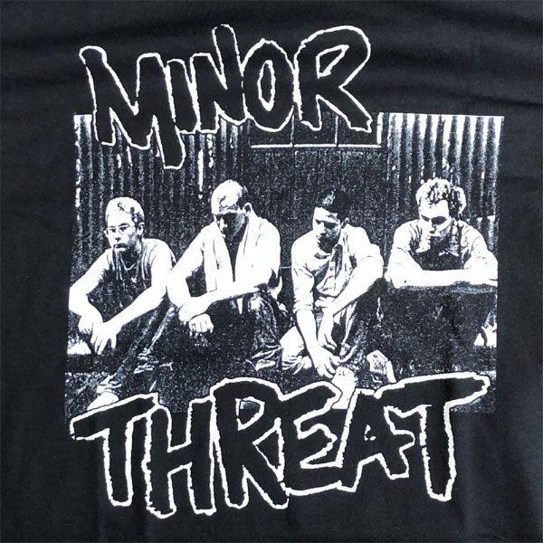 MINOR THREAT Tシャツ PHOTO