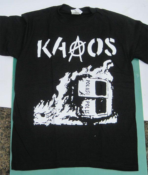 KAAOS Tシャツ BIG PRINT