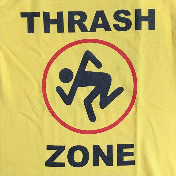 D.R.I. Tシャツ THRASH ZONE EURO TOUR
