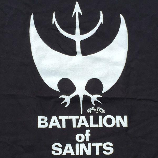 BATTALION OF SAINTS Tシャツ ロゴ